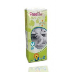 FreeLife By Bebe Talla 4 Maxi 7-18 kg 50unidades