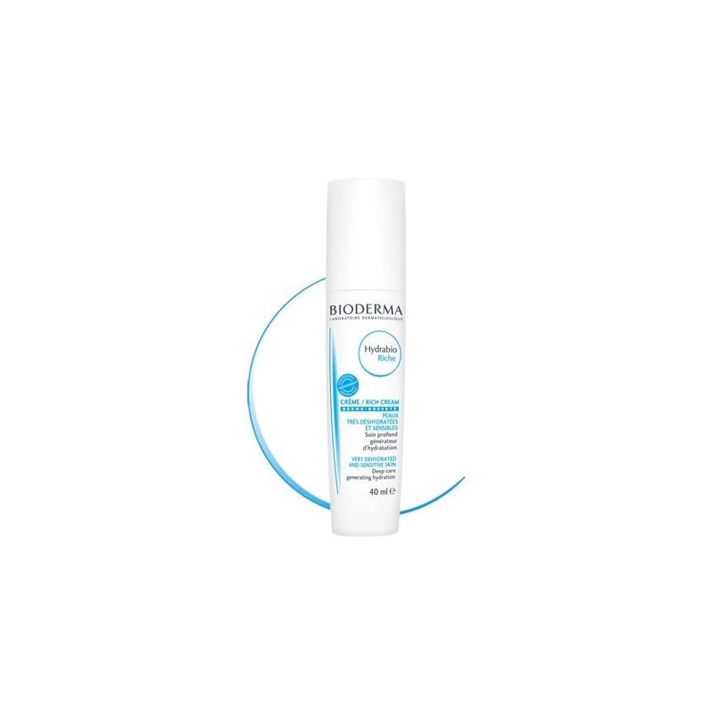 BIODERMA Hydrabio Rica  Hidratante pieles muy deshidratadas Disp. 40 ml