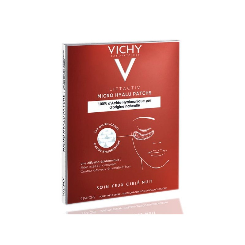 Vichy Liftactiv Hyallu-Filler 2 parches