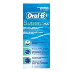 Oral-B Seda Dental Superfloss 50 Unidades