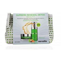 Sensiles Supreme Renewal Detox Neceser Crema Dia SPF15 50ml + Cura Detoxificante 30ml