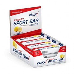 Etixx Energy Sport Bar Limon 12 unidades