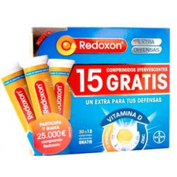 Redoxon Extra Defensas 30 Comprimidos Efervescentes + Regalo 15 Gratis