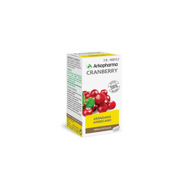 Arko Cranberry Arandano Rojo 50 Capsulas