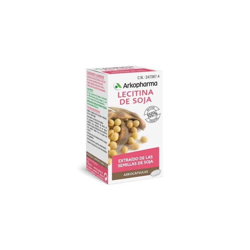 Arko Lecitina de Soja 400 mg 200 Capsulas