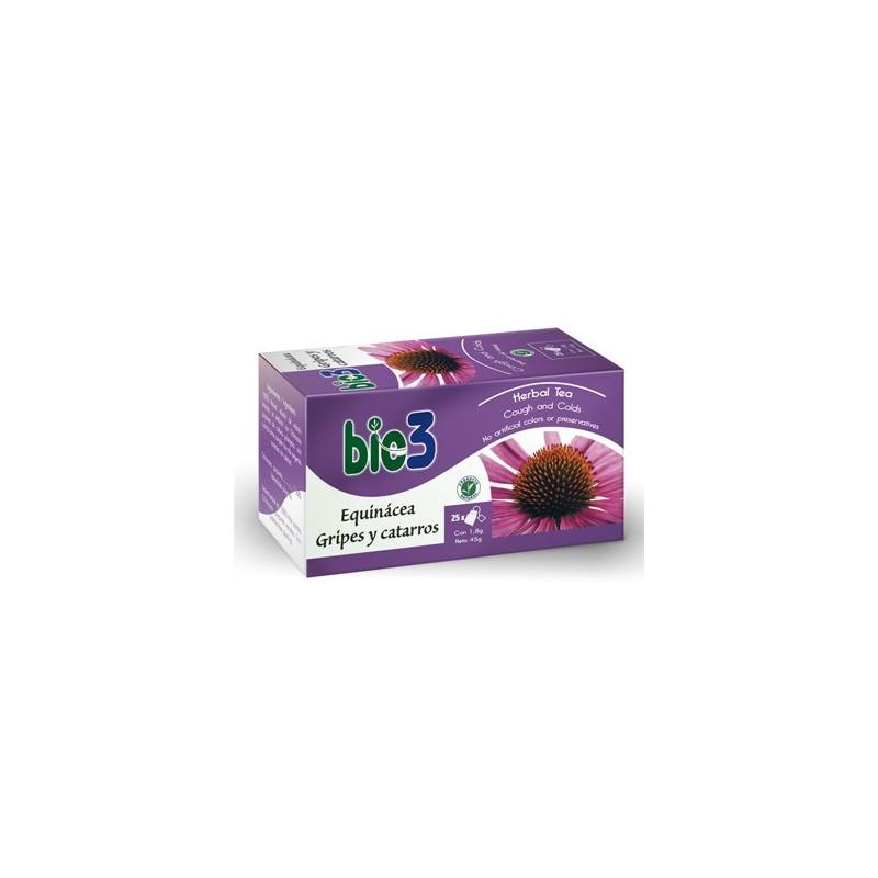 Bio3 Equinacea Gripes y Catarros 25 Bolsitas