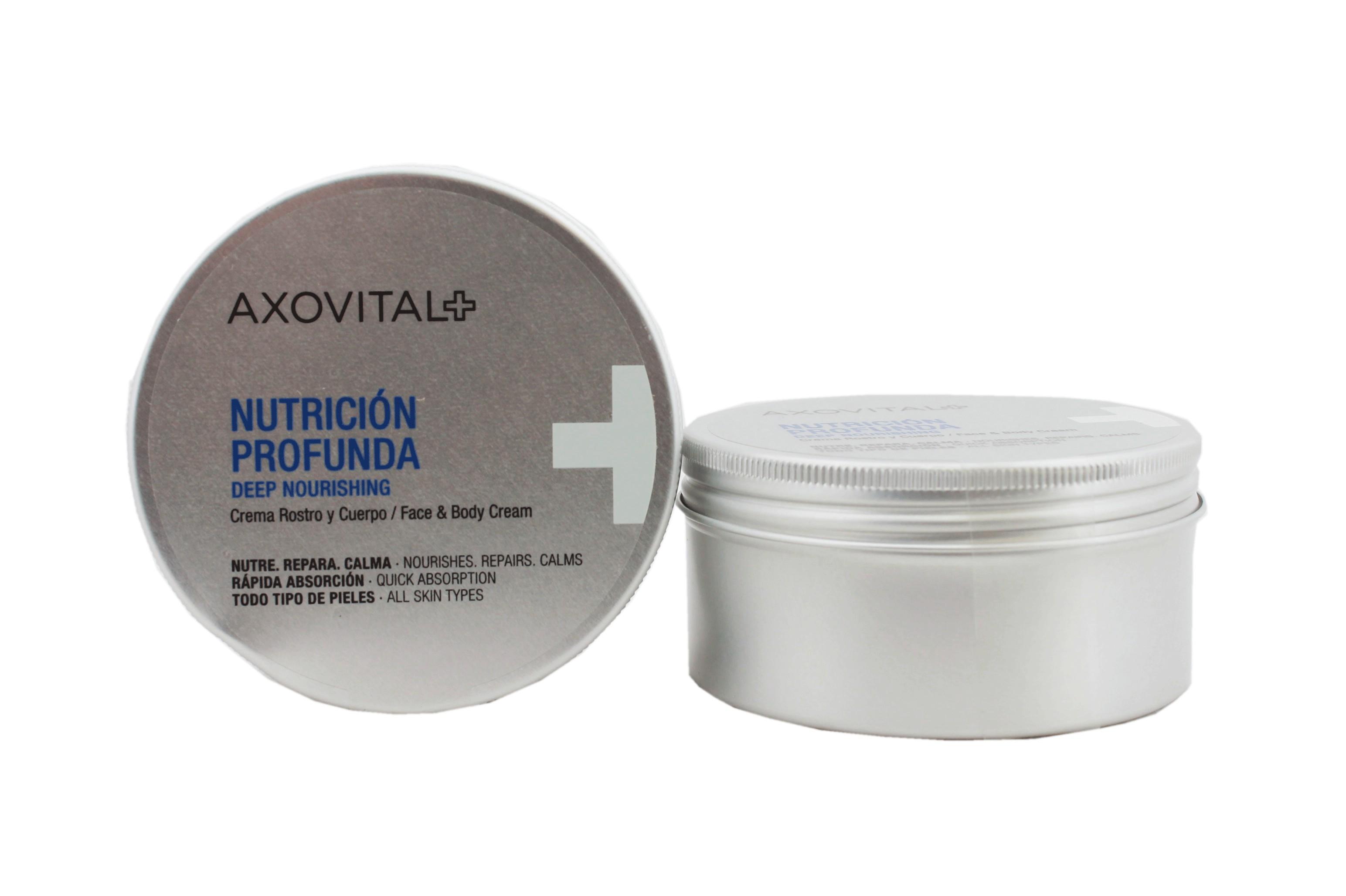 e459d75ff Axovital Nutricion Profunda Crema Rostro y Cuerpo 250ml - Farmacia GT