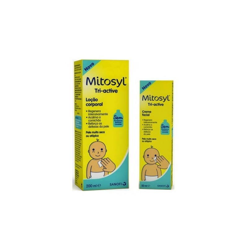 Mitosyl Triactive Locion Corporal 200 ml