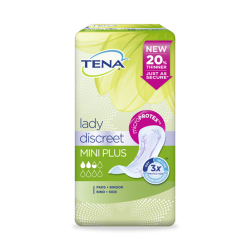 Tena lady mini plus compresas 16 unidades