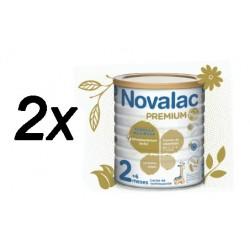 Novalac Premium Plus 2 +6 meses 2x400g