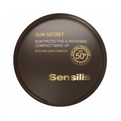 Sensilis Sun Secret Maq. Compacto Spf50+ Natural 10 g