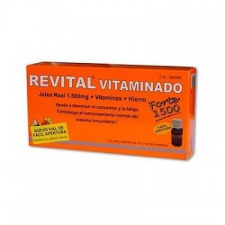 Revital Vitaminado Forte 1500 20 Ampollas Bebibles