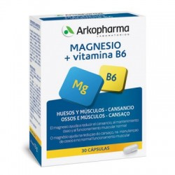 Arkovital Magnesio + Vitamina B6 30 Capsulas
