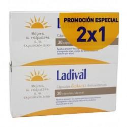 Ladival Capsulas Solares Antioxidantes 30 capsulas Duplo