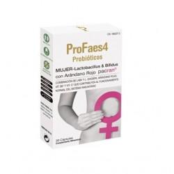 Profaes4 Probioticos Mujer 30 Cápsulas