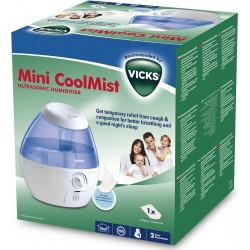 Vicks Coolmist Mini Humificador Ultrasonico