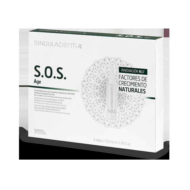 SOS Age, tratamiento antiedad de singuladerm.